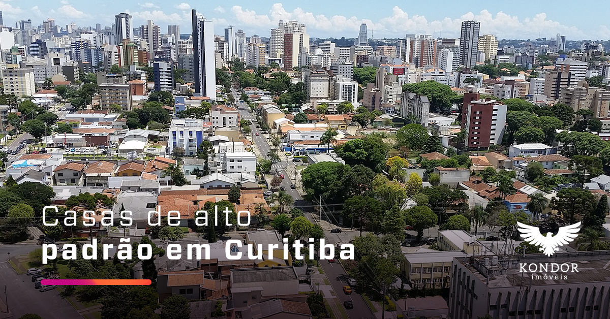 casas de alto padrão em Curitiba